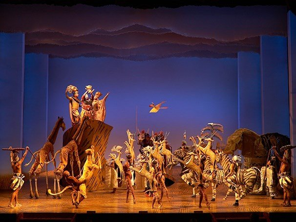 "Courtesy: Disney's ""The Lion King"" Broadway show"