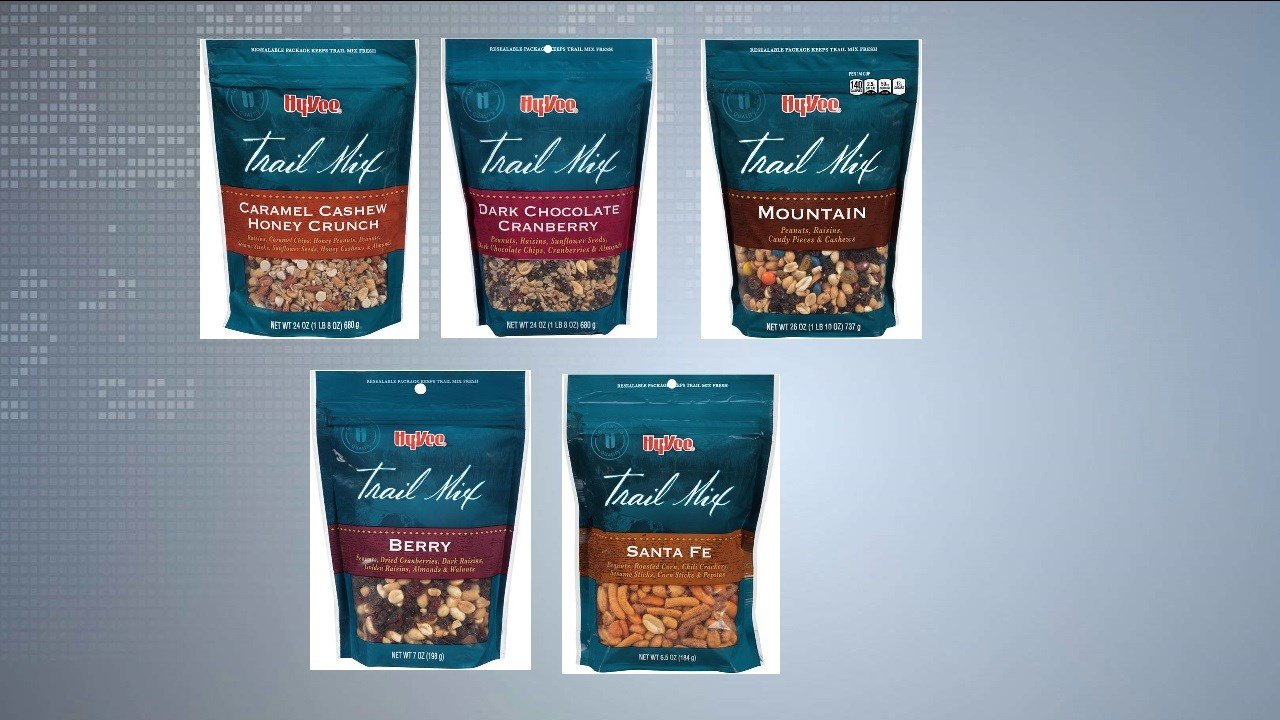 RECALL ALERT: Hy-Vee Trail Mix due to possible listeria contamin - WKOW 27: Madison, WI Breaking News, Weather and Sports