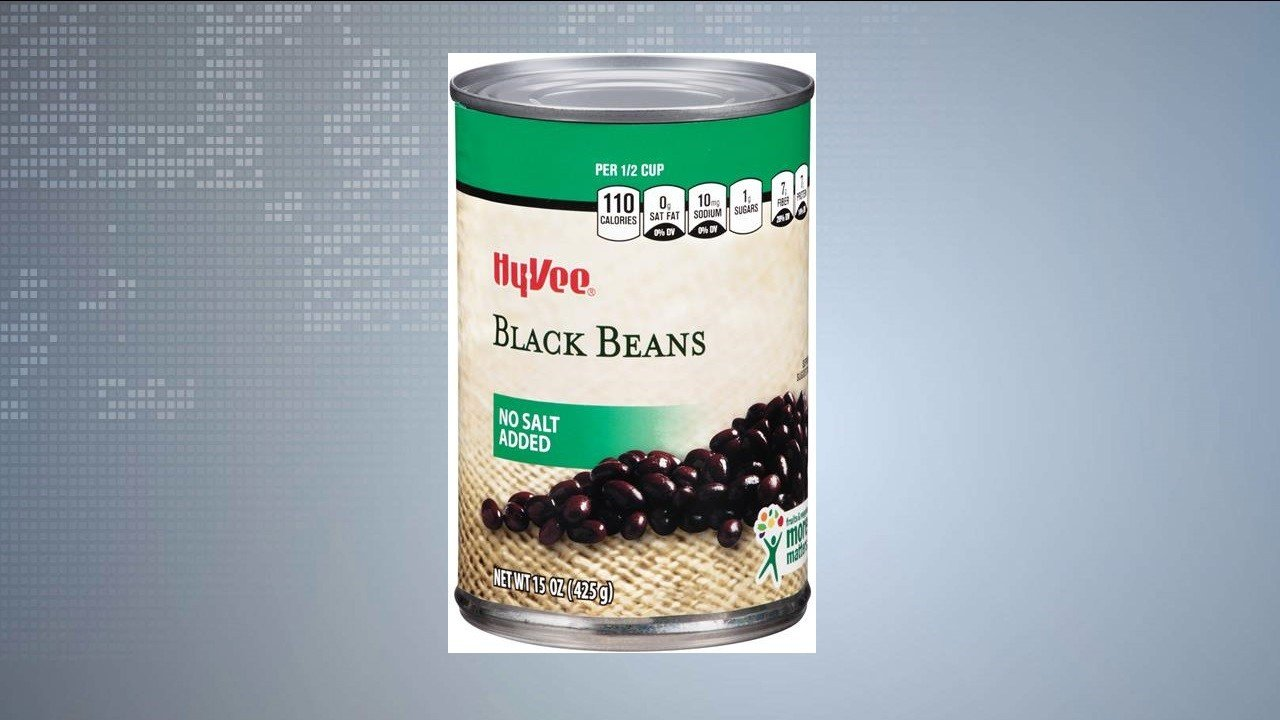 Hy-Vee recalls No-Salt-Added Black Beans - WKOW 27: Madison, WI Breaking News, Weather and Sports