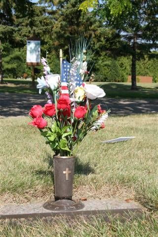 50 bronze vases similar to this have been stolen from a Madison cemetery.