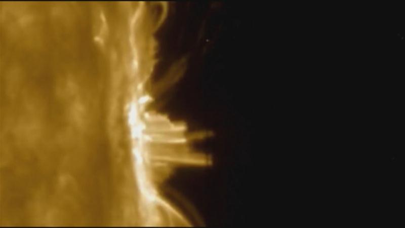 NASA Captures Plasma Rain on the Sun's Surface