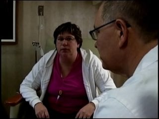 Michelle Caudle meets with a doctor