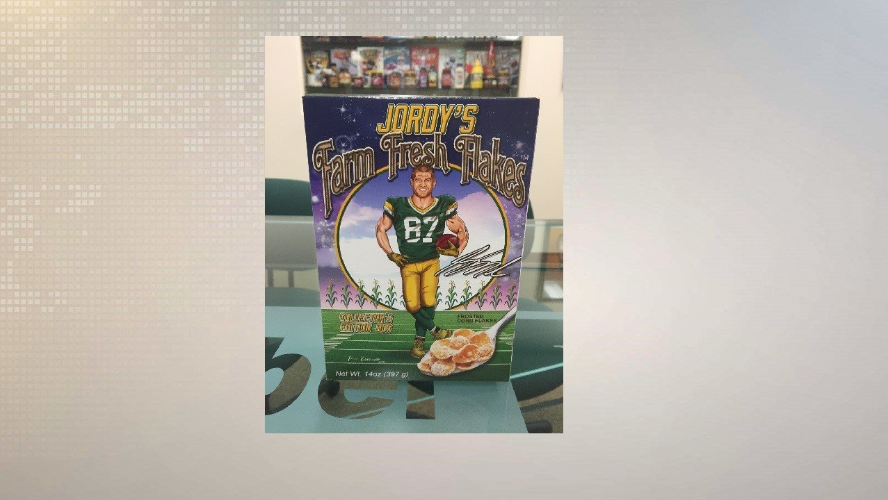 Packers' fans rejoice, Jordy Nelson is getting his own cereal