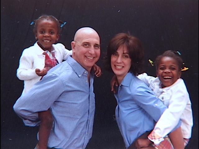 Doctors David Olive and Elizabeth Pritts