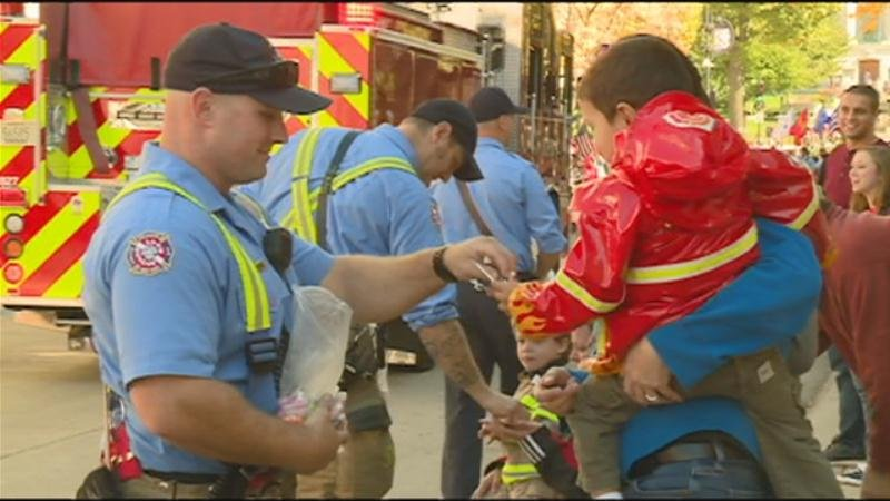 Fire Officials Kick Off Fire Prevention Week