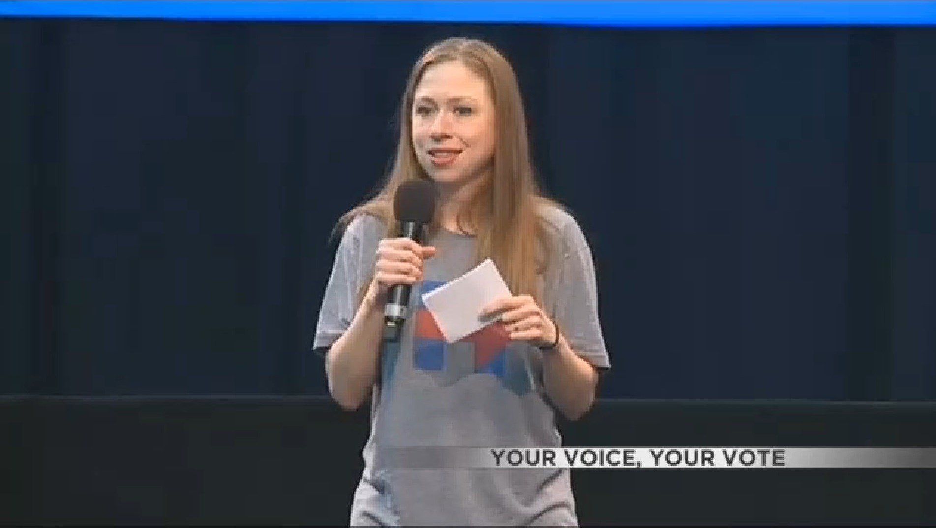 Chelsea Clinton campaigns in Wisconsin