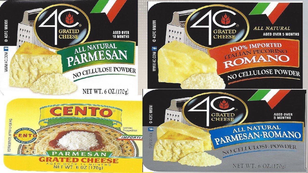 Grated cheese brands recalled over possible health risk