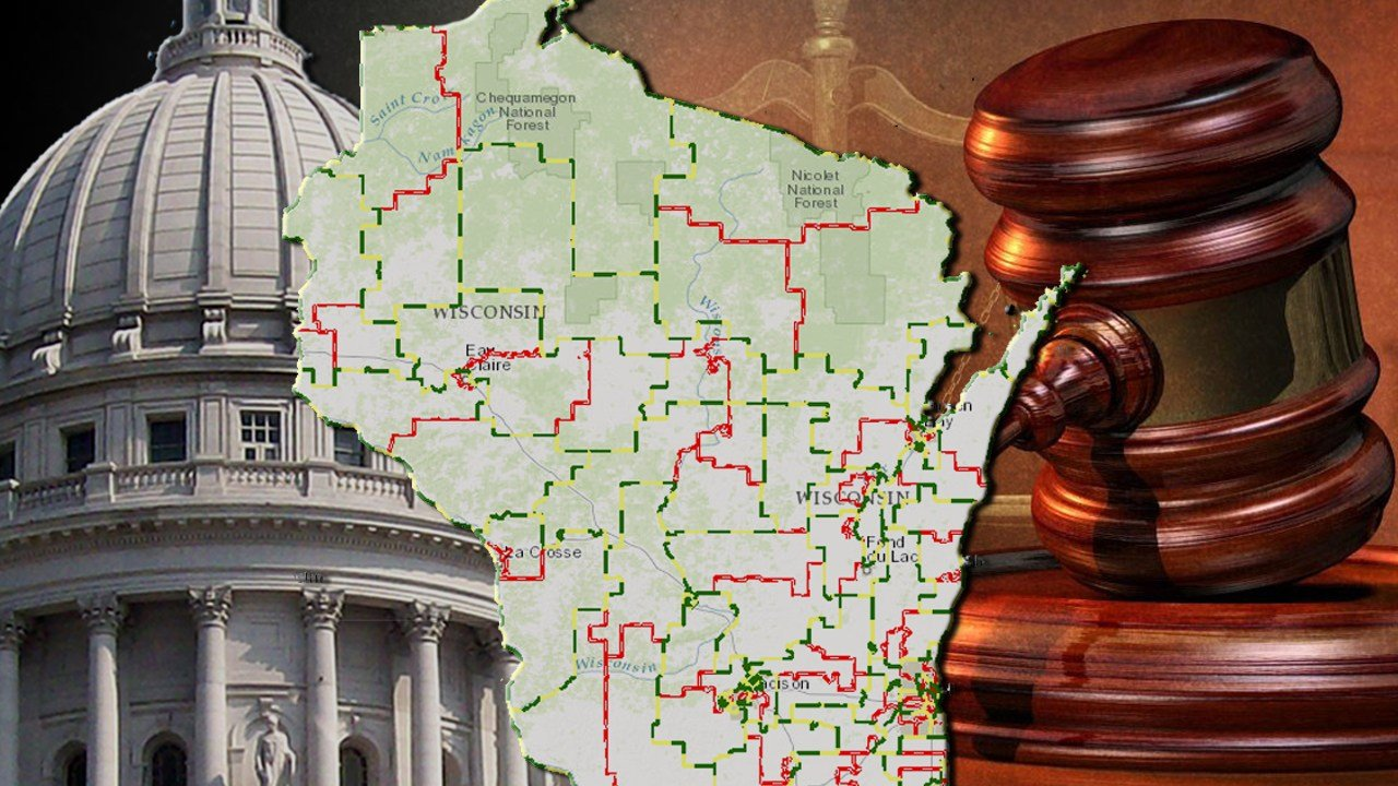 Wisconsin legislative districts ruled unconstitutional