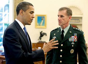 Gen. Stanley McChrystal relieved of duty as top Afghan commander