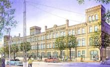 Artist's rendering of the proposed UWM School of Public Health facility