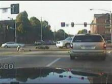 Pictures from dashcam video