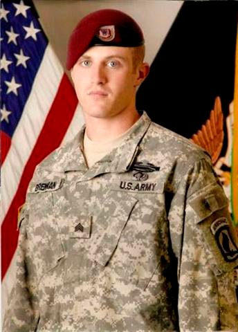 Sgt. Joshua Brennan of McFarland / Courtesy of Wisconsin State Journal
