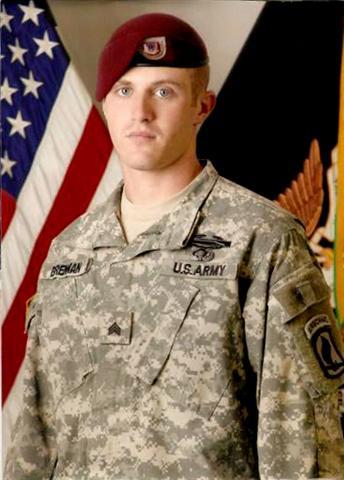 Sgt. Joshua Brennan of McFarland