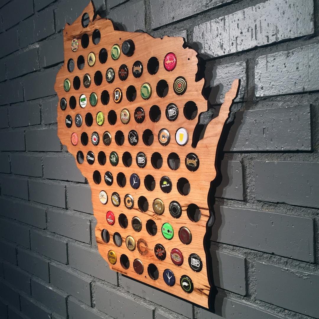 Courtesy: Beer Cap Maps