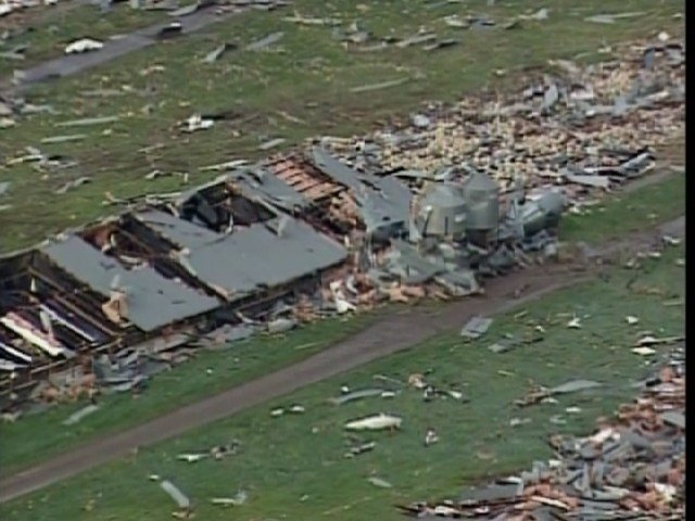 At Least 2 Dead as Severe Storms, Tornadoes Hit US Midsection