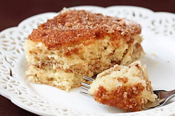 Green County Sour Cream Coffee Cake