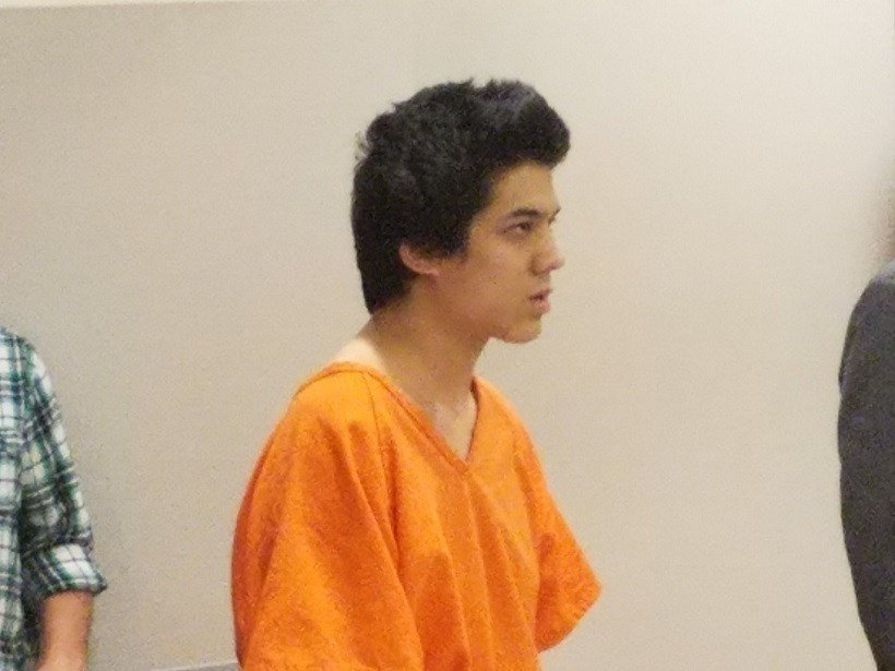 Zachary Hays during Monday's sentencing hearing