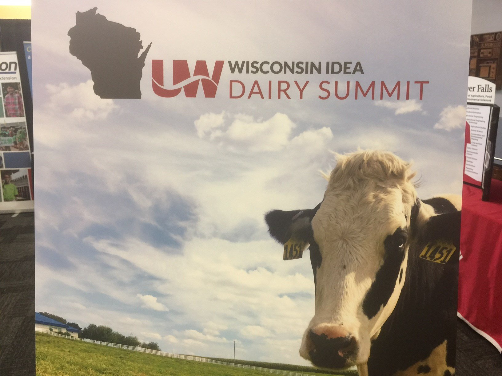 The Wisconsin Idea Dairy Summit addressed issues facing the dairy industry.