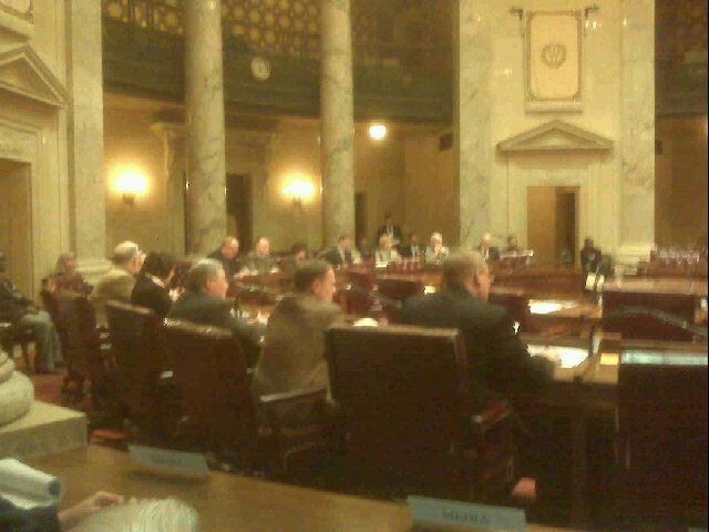 Wednesday's Senate session