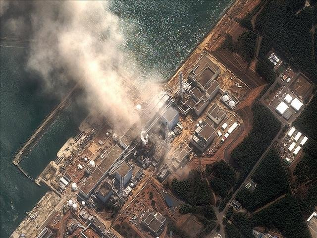 Fukushima Dai-chi Nuclear Plant; Photo Credit: Digital Globe