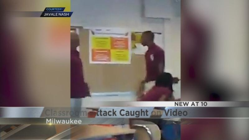 Milwaukee teenager arrested for allegedly punching teacher
