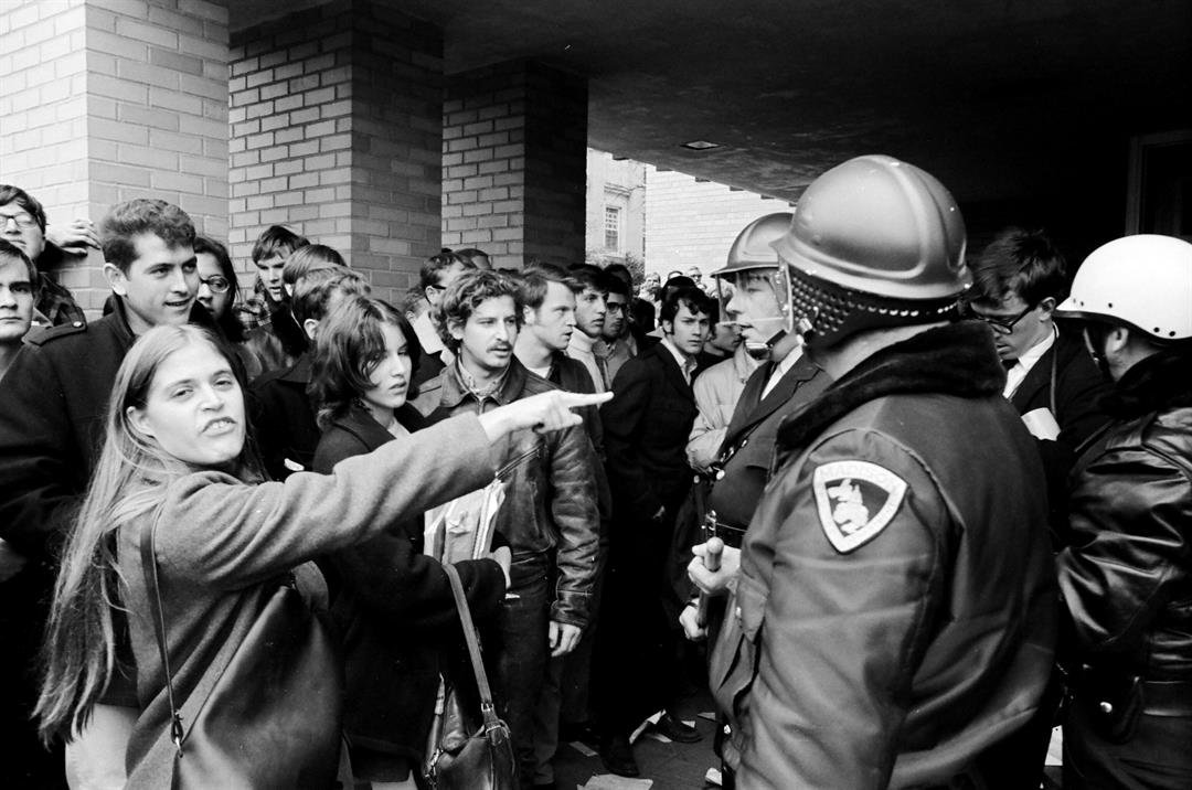 Dow riots, October 1967. UW-Madison archives