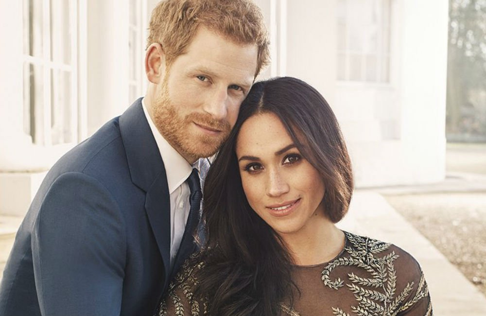 Prince Harry and Meghan Markle by Alexi Lubomirski