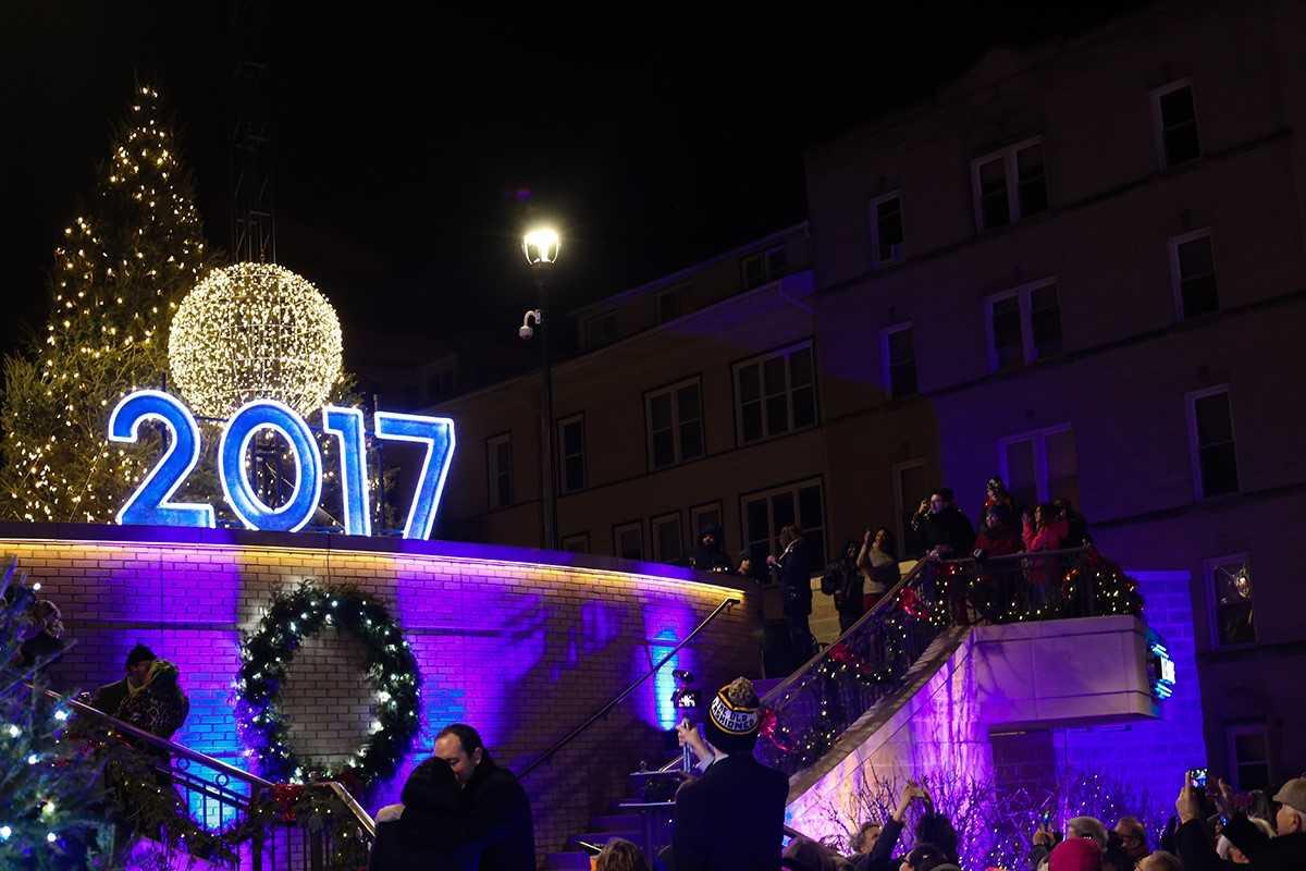 Edgewater 2017 New Year's Eve celebration