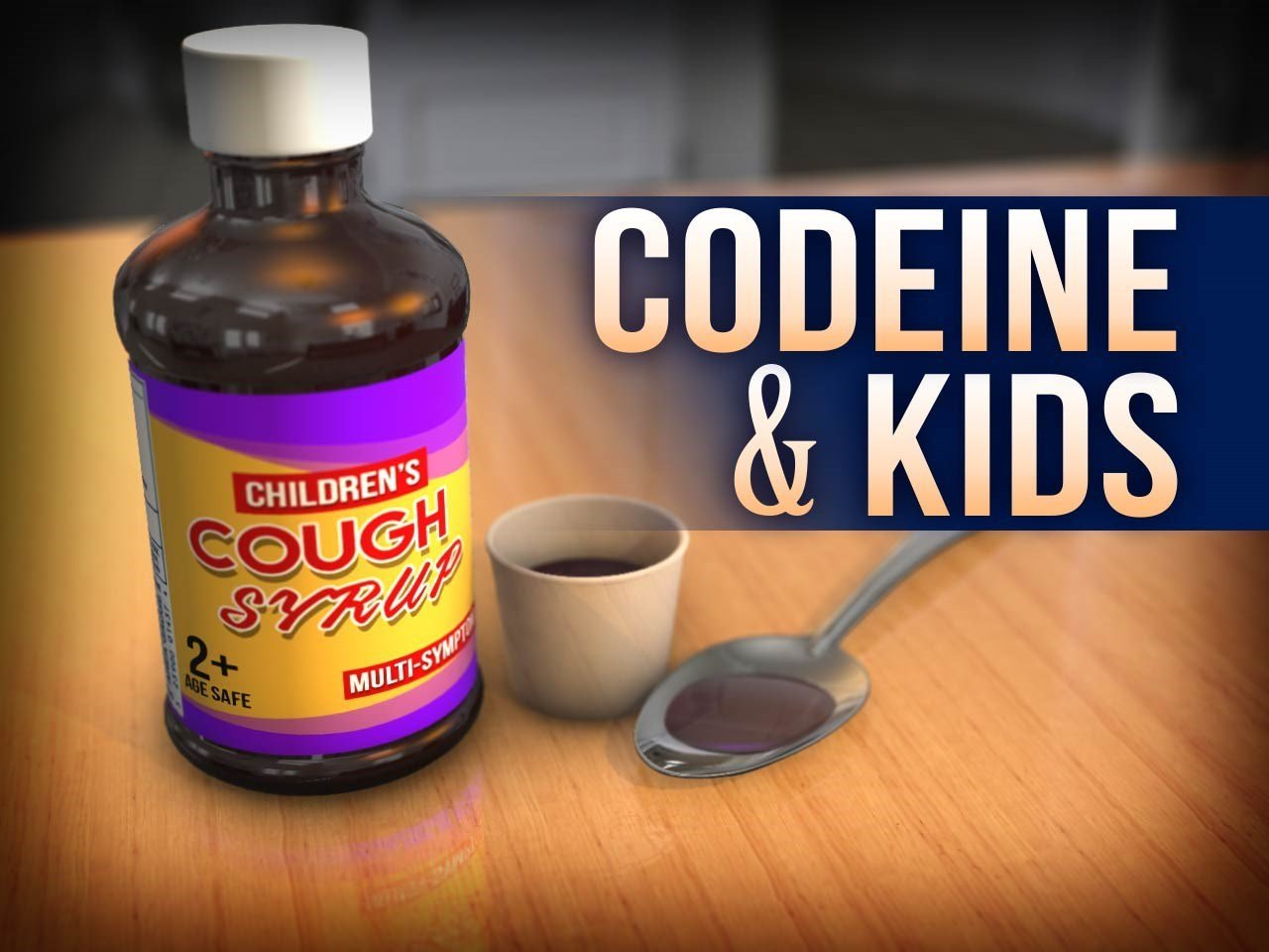 Cough Syrup Containing Opioids Is Dangerous for Kids: FDA