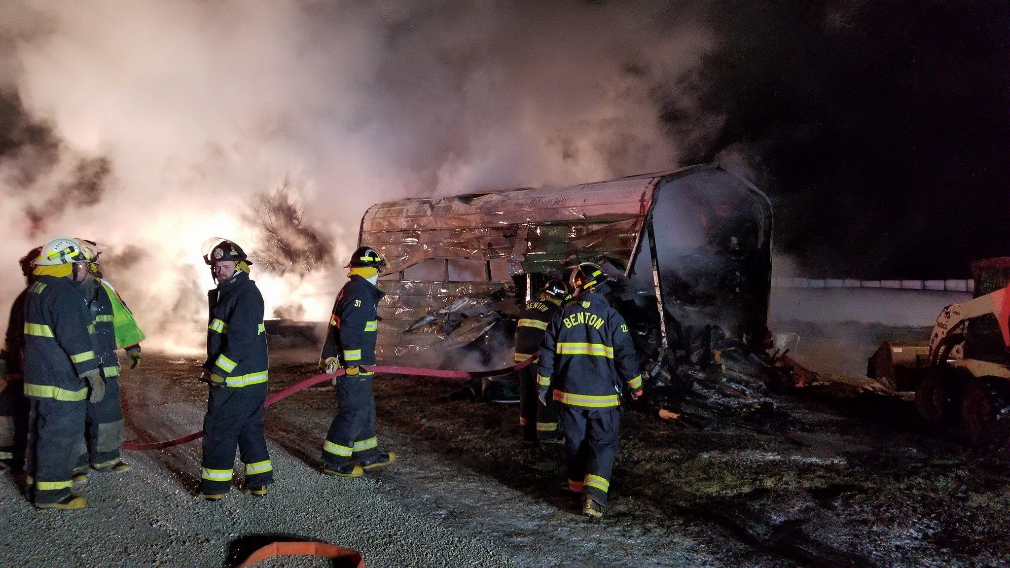 Benton Fire Department photo
