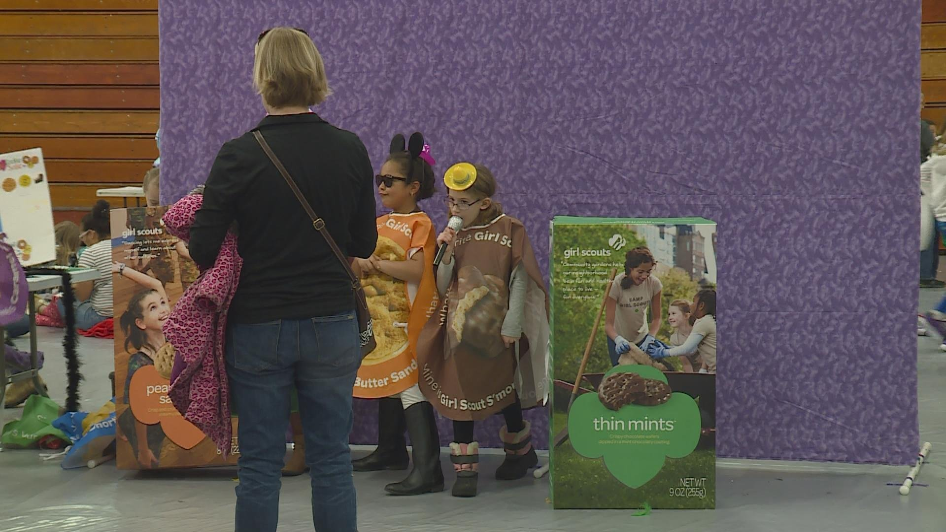 Girl Scouts prepare for cookie season