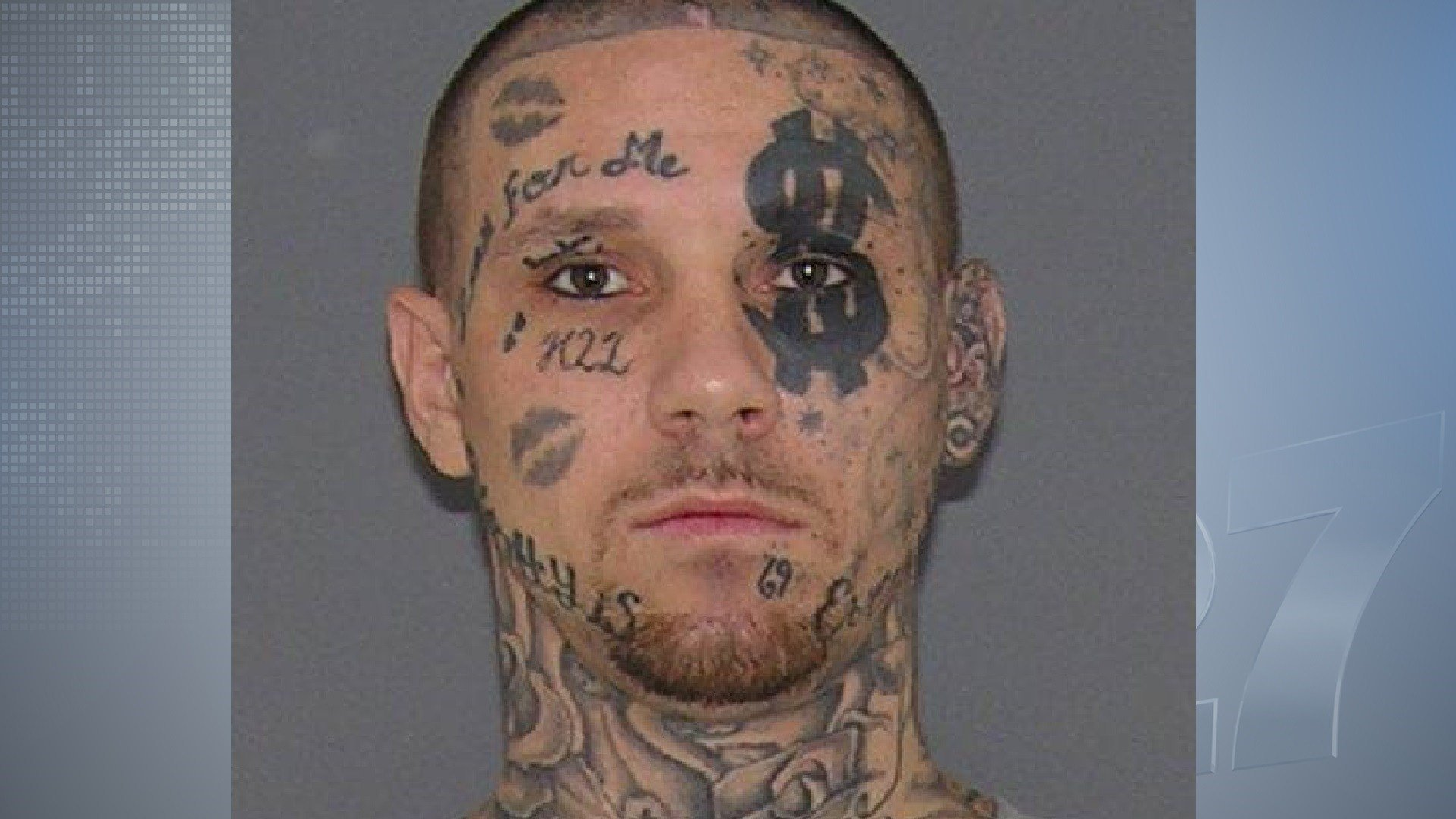 Man with tattooed face sought in OH assault case