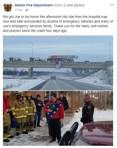 Courtesy: Delton Fire Department/Facebook