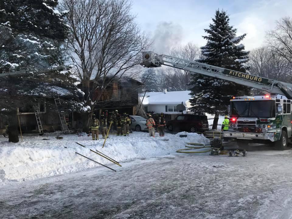 CREDIT: Fitchburg Fire Dept.
