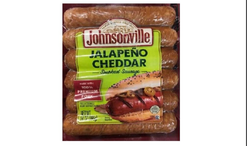 Johnsonville recalls 109603 pounds of sausage due to possible contamination