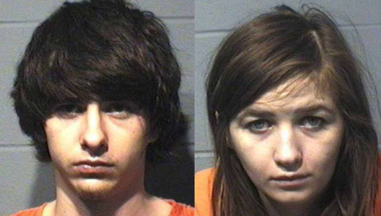 (Left) Jacob R. Hellenbrand, (Right) Olivia J. Boomsma, Portage Police Department