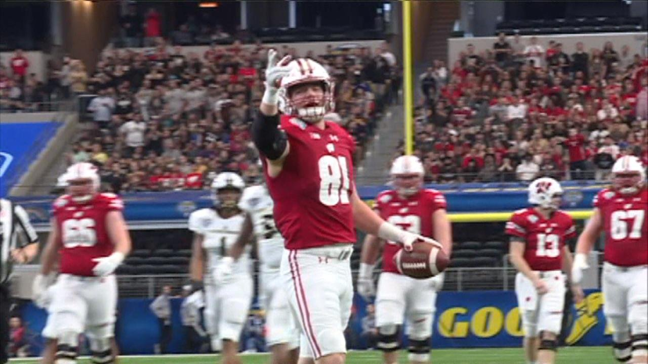 Former Badgers TE Troy Fumagalli drafted in the 5th round by Broncos