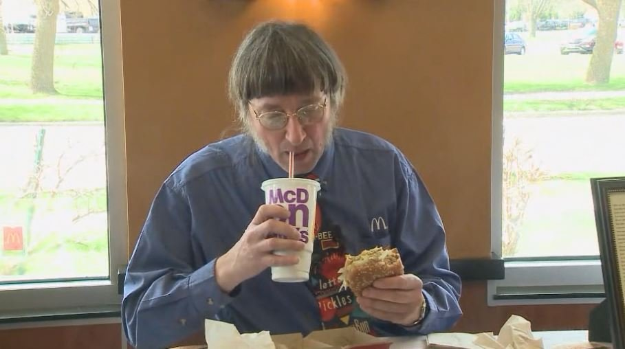 Wisconsin Man Eats 30000th Big Mac Burger, Plans To Hit 40000