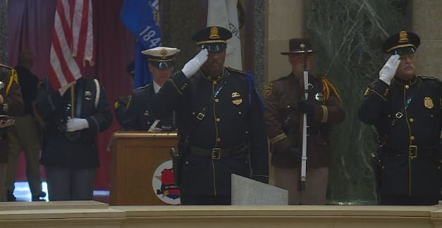 Lenexa Police Department will remember fallen officers with wreath laying ceremony