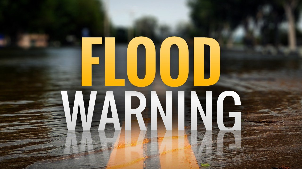 Flood warning issued until 6:15 pm
