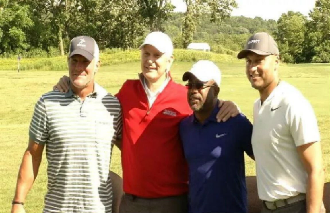 New York Yankees great Jeter, who's also an American Family Insurance brand ambassador, joined Favre and North in the celebrity foursome last year in 2017, along with Grammy award-winning country music artist Darius Rucker. File photo/WKOW