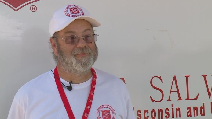Salvation Army EDS coordinator, Ted Bendler, discusses relief efforts in the aftermath of the Sun Prairie explosion