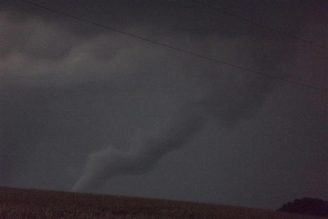 Funnel cloud near Bloomington