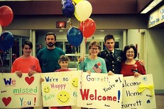 Photo: Welcome home for Jane's son in 1991