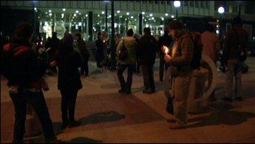 Demonstrators send message to officials: Heenan case not over
