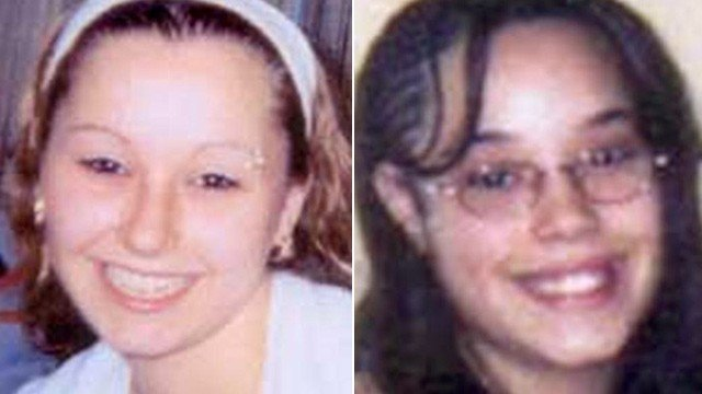 Amanda Berry, left, and Gina DeJesus show in these photos provided by the FBI.