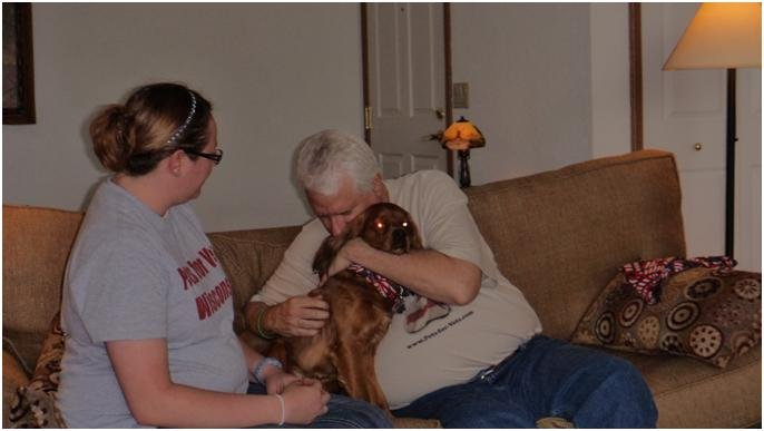 Courtesy: Pets for Vets Wisconsin