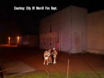 Photo: Merrill Fire Dept.