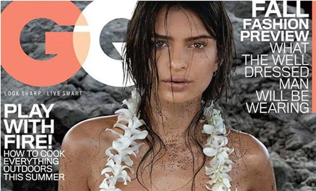 Cropped picture of GQ cover