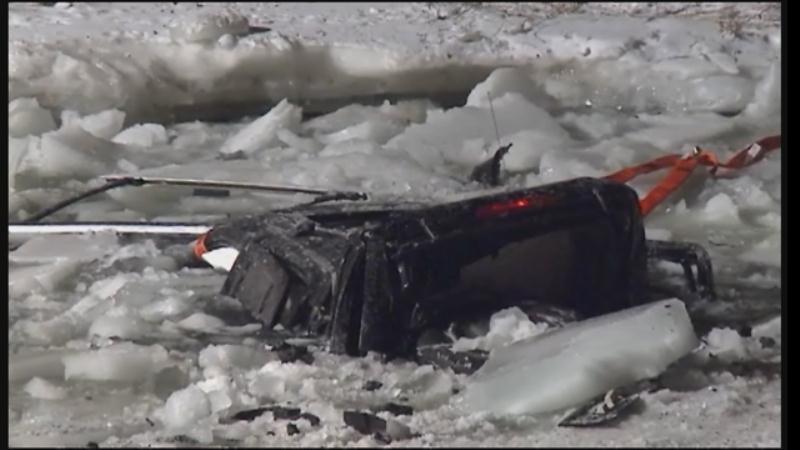 River crash survivor talks about terrifying ordeal